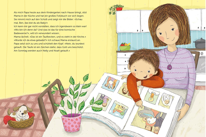 Mein Erstes Illustriertes Kinderbuch Für Den Herder Verlag